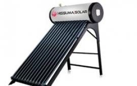 Termotanque Solar de 100 Litros