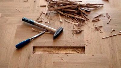 Reparación de pisos